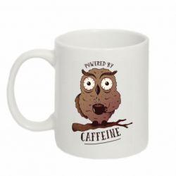 Кружка 320ml Caffeine Owl