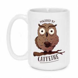 Кружка 420ml Caffeine Owl