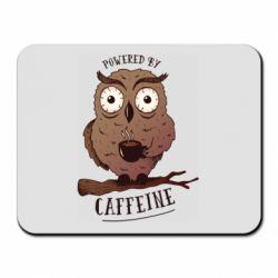 Килимок для миші Caffeine Owl