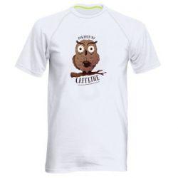 Чоловіча спортивна футболка Caffeine Owl