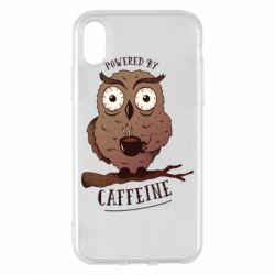 Чохол для iPhone X/Xs Caffeine Owl