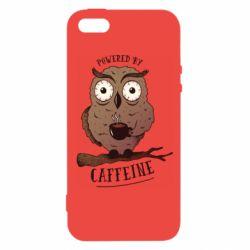 Чохол для iphone 5/5S/SE Caffeine Owl