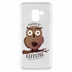 Чохол для Samsung A8 2018 Caffeine Owl