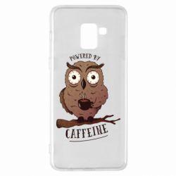 Чохол для Samsung A8+ 2018 Caffeine Owl
