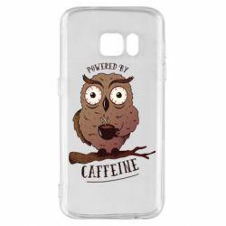 Чохол для Samsung S7 Caffeine Owl
