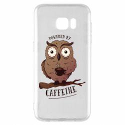 Чохол для Samsung S7 EDGE Caffeine Owl