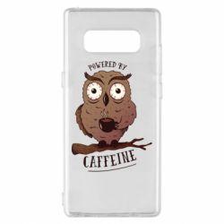 Чохол для Samsung Note 8 Caffeine Owl