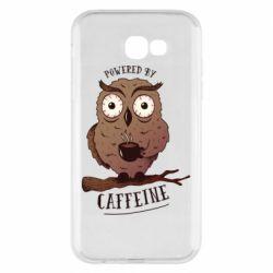Чохол для Samsung A7 2017 Caffeine Owl