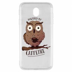 Чохол для Samsung J7 2017 Caffeine Owl
