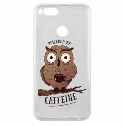 Чохол для Xiaomi Mi A1 Caffeine Owl