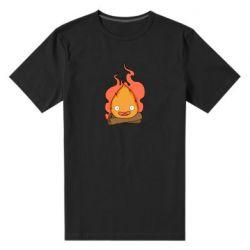 Мужская стрейчевая футболка Calcifer vector