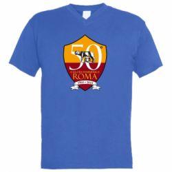 Чоловіча футболка з V-подібним вирізом Calcio Femminile Roma