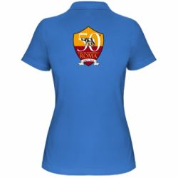 Жіноча футболка поло Calcio Femminile Roma