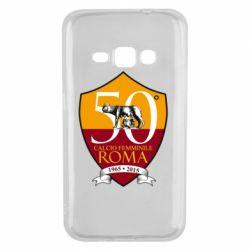Чохол для Samsung J1 2016 Calcio Femminile Roma