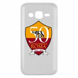 Чохол для Samsung J2 2015 Calcio Femminile Roma