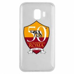 Чохол для Samsung J2 2018 Calcio Femminile Roma