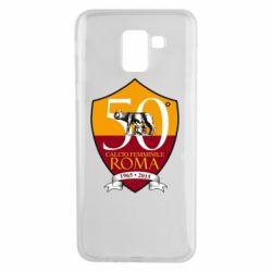 Чохол для Samsung J6 Calcio Femminile Roma