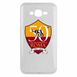 Чохол для Samsung J7 2015 Calcio Femminile Roma