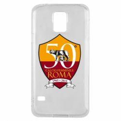 Чохол для Samsung S5 Calcio Femminile Roma