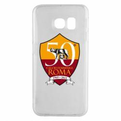 Чохол для Samsung S6 EDGE Calcio Femminile Roma