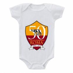 Дитячий бодік Calcio Femminile Roma