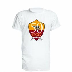 Подовжена футболка Calcio Femminile Roma