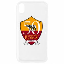 Чохол для iPhone XR Calcio Femminile Roma