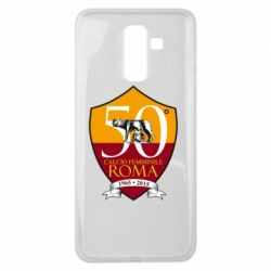 Чохол для Samsung J8 2018 Calcio Femminile Roma