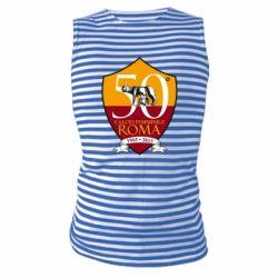Майка-тільняшка Calcio Femminile Roma