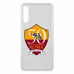 Чохол для Samsung A7 2018 Calcio Femminile Roma
