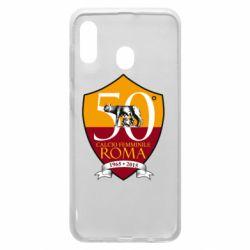 Чохол для Samsung A30 Calcio Femminile Roma