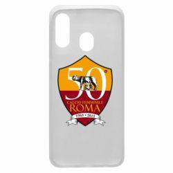 Чохол для Samsung A40 Calcio Femminile Roma