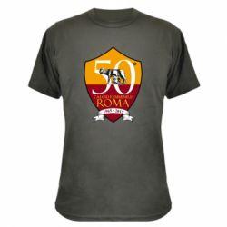 Камуфляжна футболка Calcio Femminile Roma