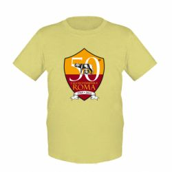 Дитяча футболка Calcio Femminile Roma