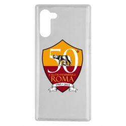 Чохол для Samsung Note 10 Calcio Femminile Roma