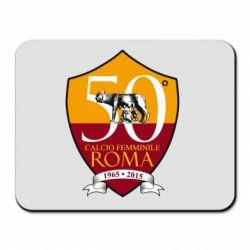 Килимок для миші Calcio Femminile Roma