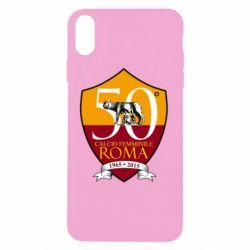 Чохол для iPhone X/Xs Calcio Femminile Roma