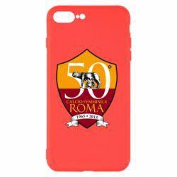 Чохол для iPhone 8 Plus Calcio Femminile Roma