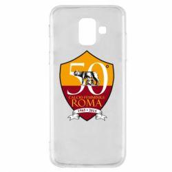 Чохол для Samsung A6 2018 Calcio Femminile Roma