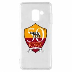 Чохол для Samsung A8 2018 Calcio Femminile Roma