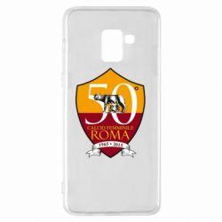 Чохол для Samsung A8+ 2018 Calcio Femminile Roma