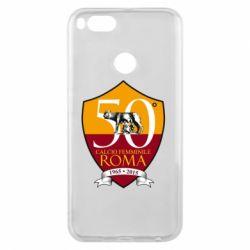 Чохол для Xiaomi Mi A1 Calcio Femminile Roma