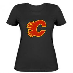 Женская футболка Calgary Flames