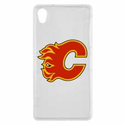 Чехол для Sony Xperia Z2 Calgary Flames - FatLine
