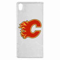 Чехол для Sony Xperia Z5 Calgary Flames - FatLine
