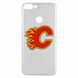 Чехол для Huawei P Smart Calgary Flames - FatLine
