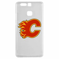 Чехол для Huawei P9 Calgary Flames - FatLine