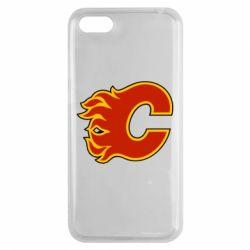Чехол для Huawei Y5 2018 Calgary Flames - FatLine