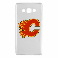 Чехол для Samsung A7 2015 Calgary Flames - FatLine