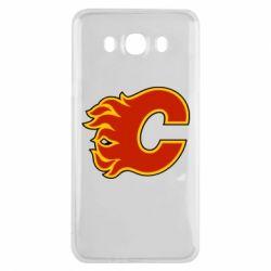 Чехол для Samsung J7 2016 Calgary Flames - FatLine